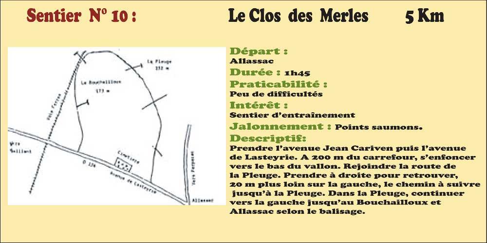 Activités - Sentiers pédestres - Sentier n°10