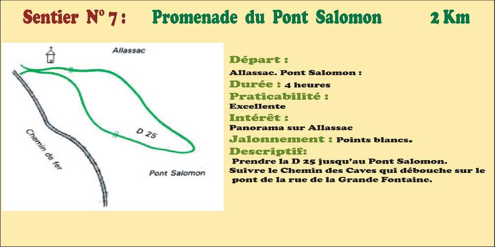 Activités - Sentiers pédestres - Sentier n°7