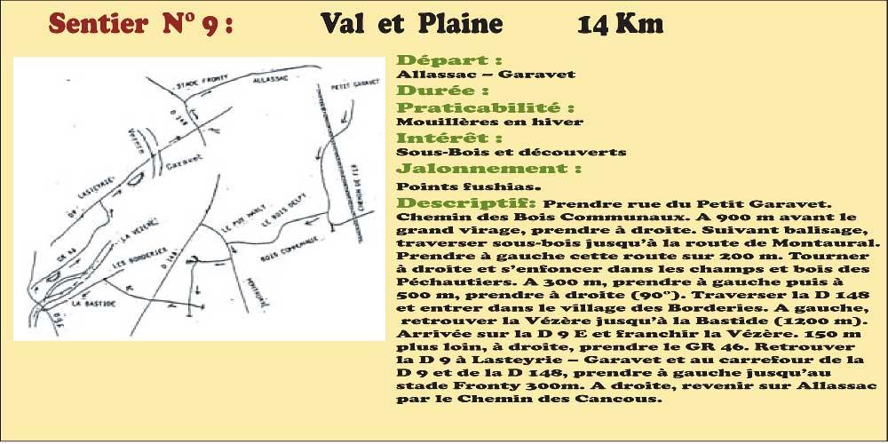 Activités - Sentiers pédestres - Sentier n°9
