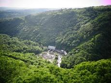 allassac site de la roche vue tourisme